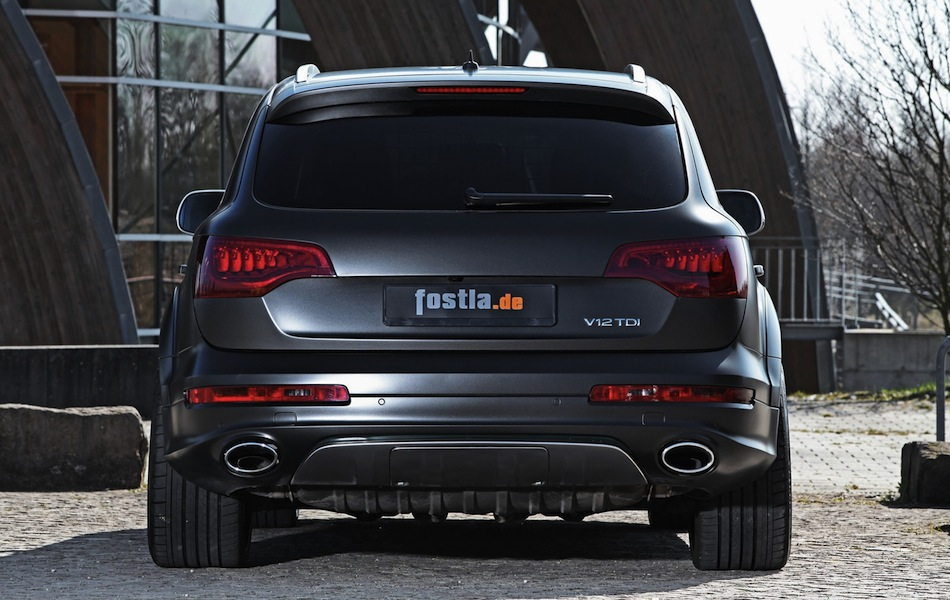 audi q7 tdi by fostla street use info. Black Bedroom Furniture Sets. Home Design Ideas