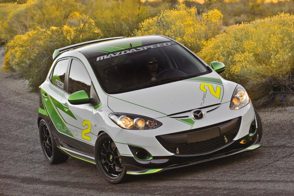 Mazda 2 TURBO - หนูผีเพชรฆาต