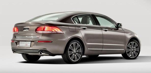 Qoros Sedan2