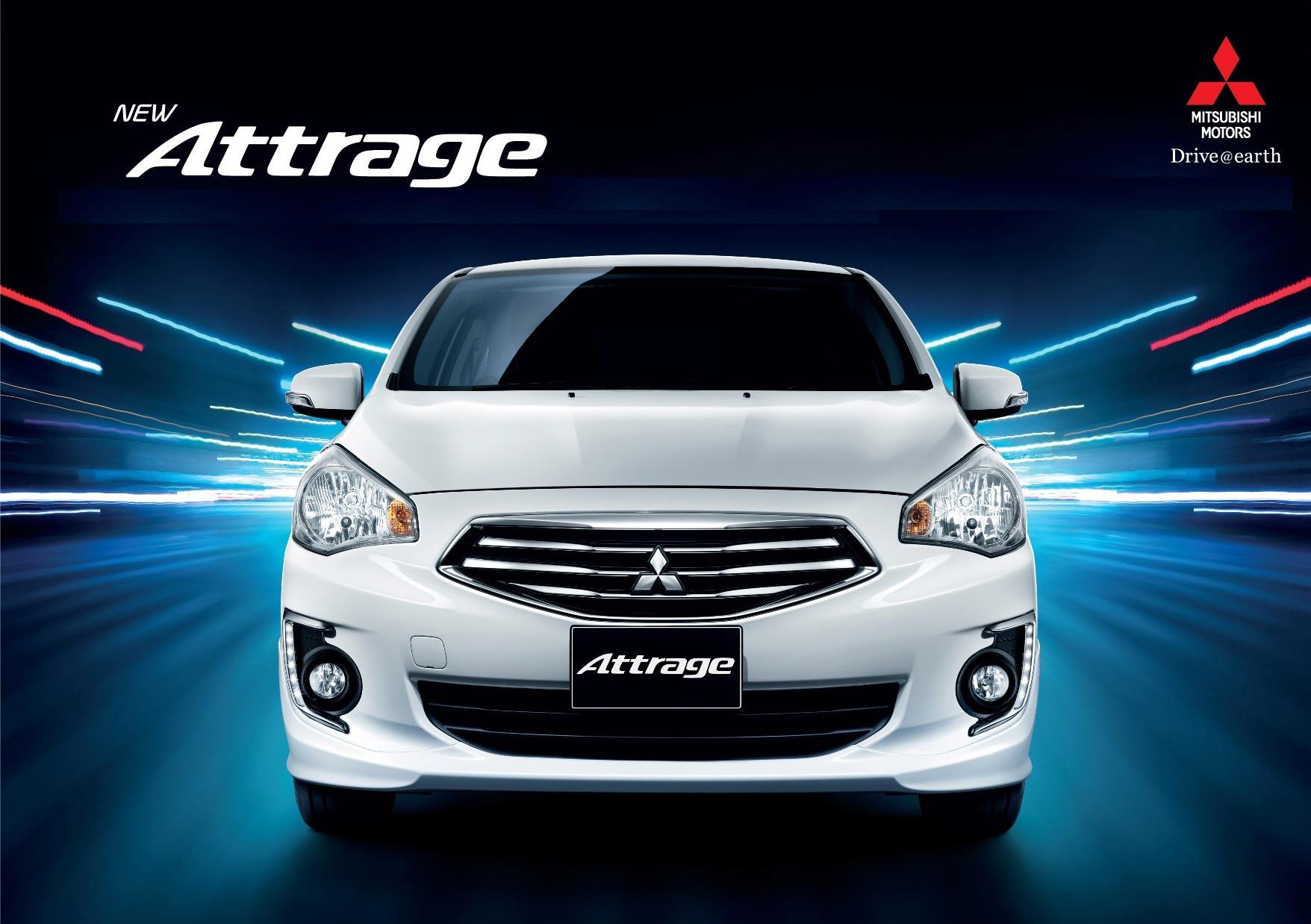 Mitsubishi Attrage 2015 - Giá 468 - 498 - 548tr